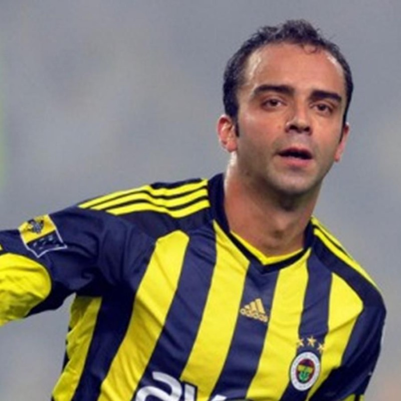 Semih's Official Fenerbache Signed Shirt, 2009/10