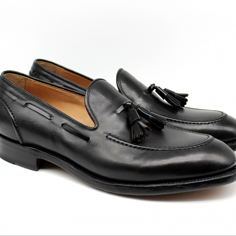 Stratton Calf Leather Loafers by Franco Gentili