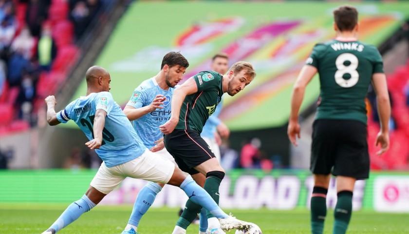 Fernandinho's Match-Issued Signed Shirt, Carabao Cup Final