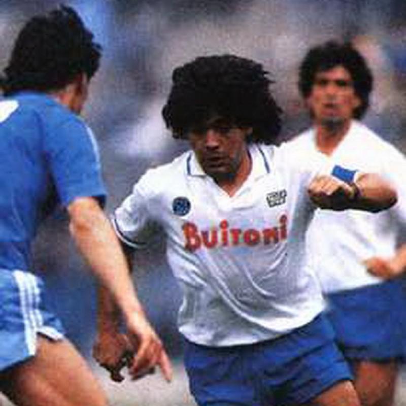 Maradona's Match-Issued Signed Captain's Armband, 1986/87
