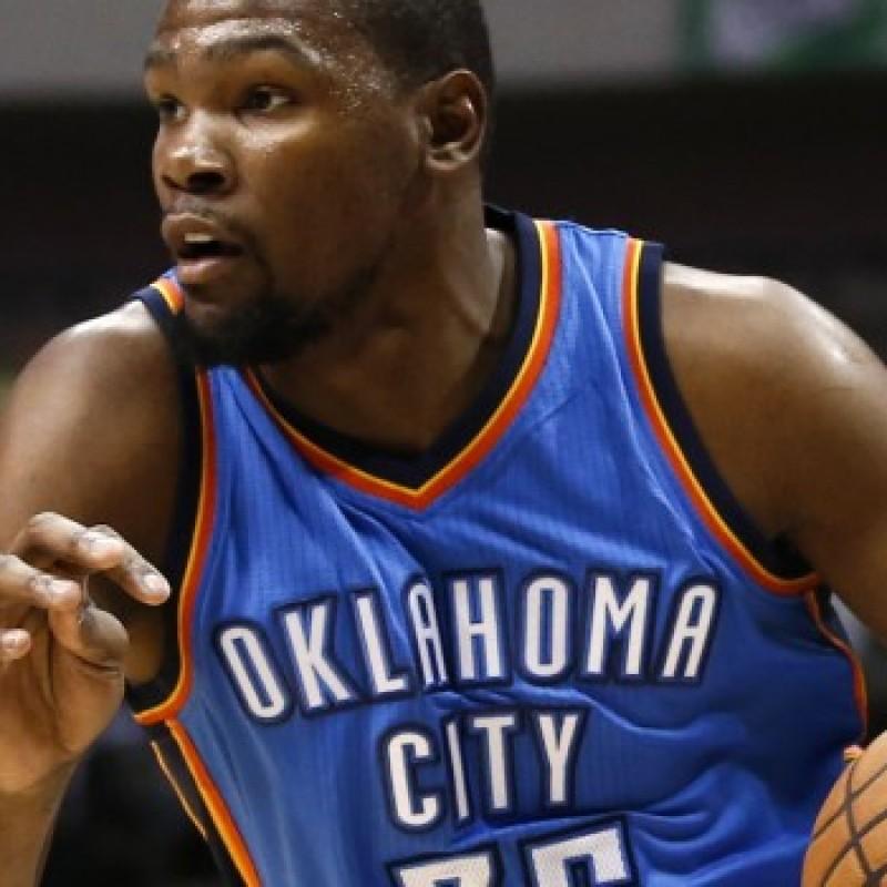 Spalding NBA Basketball Signed by Oklahoma City Thunder's Kevin Durant