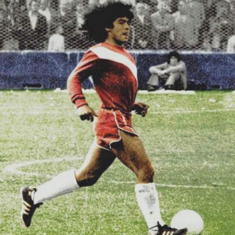 Adidas Boots - Signed by Maradona