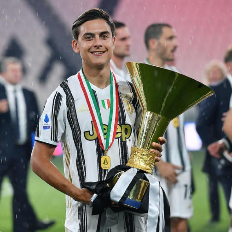 Maglia Ufficiale Dybala Juventus, 2020/21 - Autografata