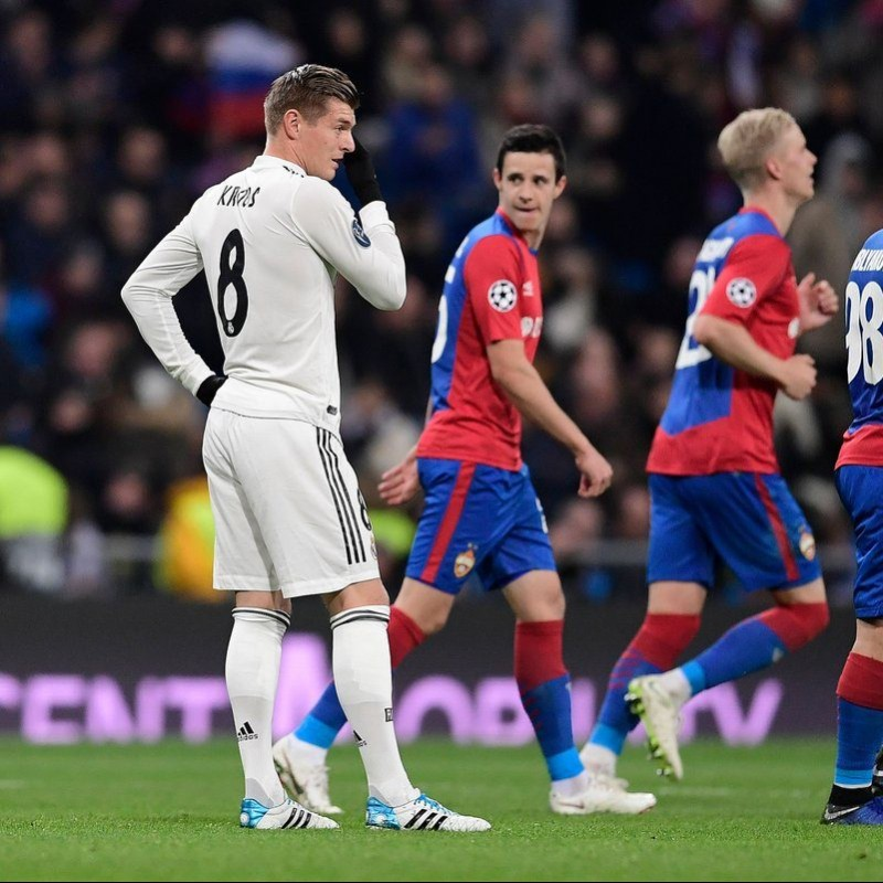 Kroos' Match Shirt, Real Madrid-CSKA 2018