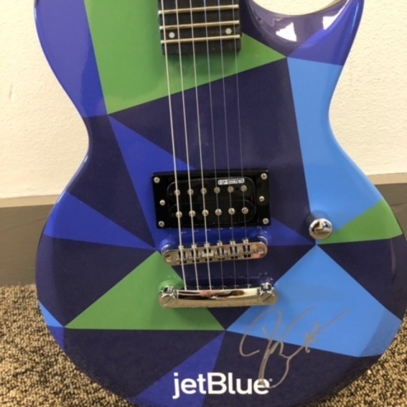 Darius Rucker Signed JetBlue Electric Guitar