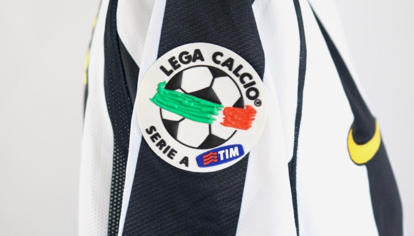 Sissoko's Juventus Match Shirt, 2009/10