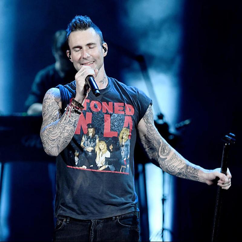 """Adam Levine """"Maroon 5"""" Signed Guitar"""