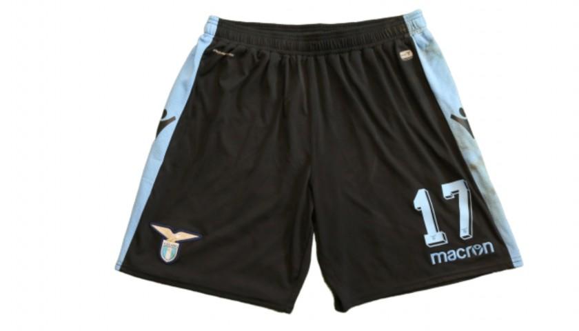 Immobile's Lazio Worn Shorts, 2018/19