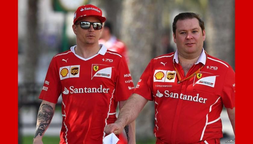 Kimi Raikkonen's Official Ferrari T-Shirt