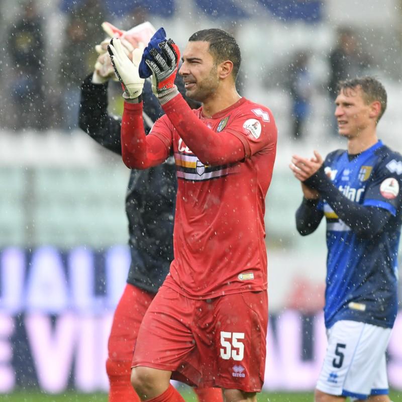Sepe's Worn Shirt, Parma-Sampdoria - #Blucrociati