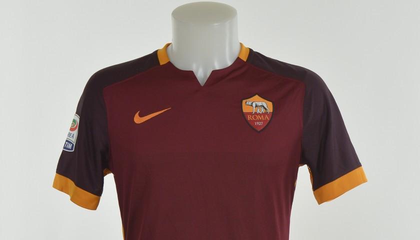 Authenticated Pjanic shirt worn during Roma 2-1 Juventus