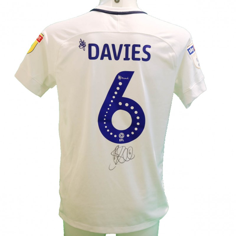 Davies' Preston Worn and Signed Poppy Shirt