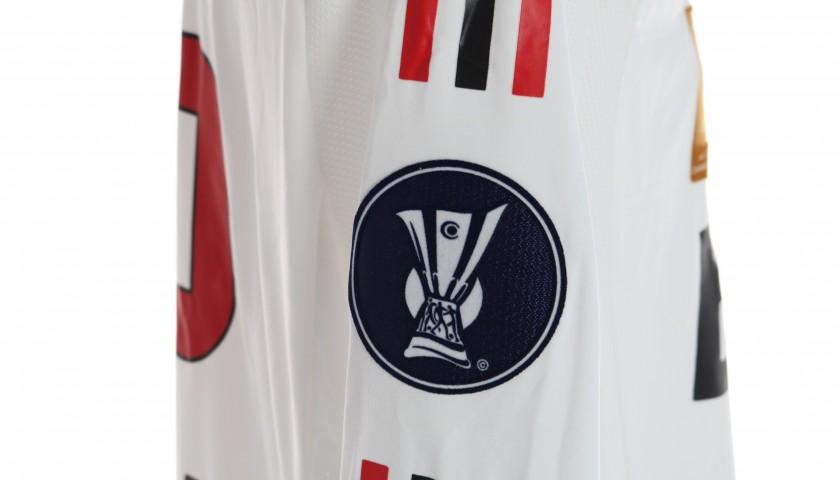 Kaka's AC Milan Signed Match Shirt, UEFA Cup 2008/09