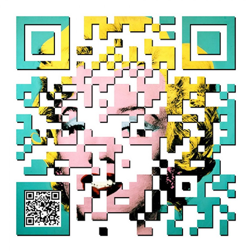 """QR Marilyn"" by Tony Leone"