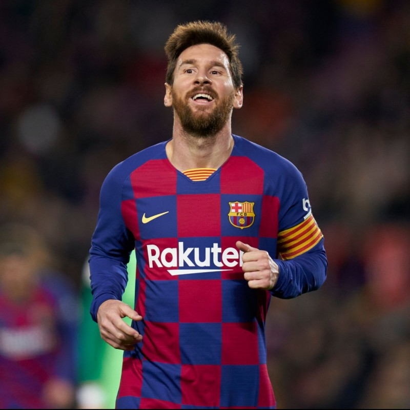 Messi's Barcelona Match Shirt, 2019/20