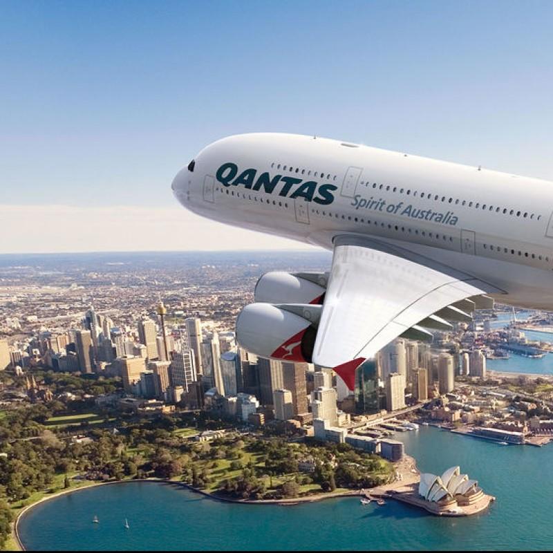 Qantas Airways Business Round-Trip Airfare from NYC to Australia