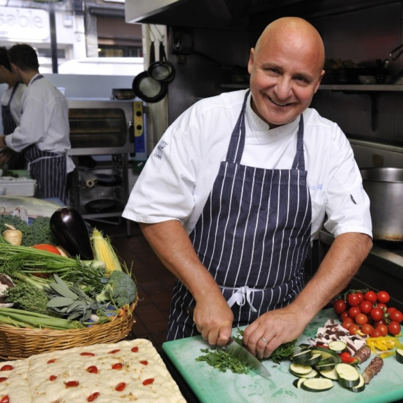 Join the World Famous Celebrity Chef Aldo Zilli for a Private Lunch and Masterclass