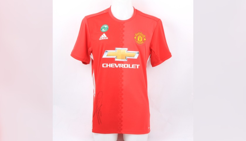 online store de2be 48170 Manchester United Kit Signed by Paul Pogba - CharityStars