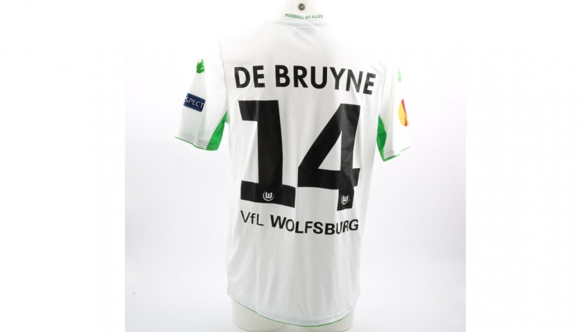 size 40 9d235 7c8b0 Kevin De Bruyne Match Worn/Issued Wolfsburg Football Shirt - CharityStars