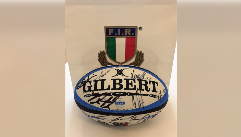 Official FIR Rugby Ball 2018/19 - Signed by the Players