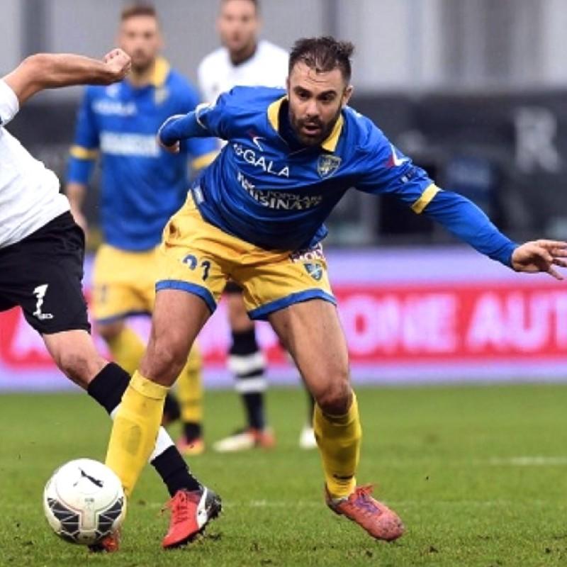 Sammarco's Bench-Worn Shirt, Perugia-Frosinone 2017