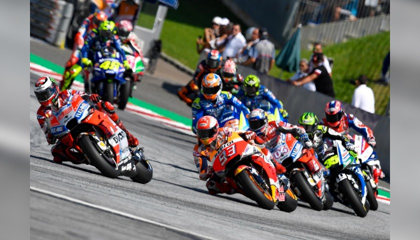 Enjoy the 2019 Spielberg MotoGP from VIP Village Seats + Paddock Pass