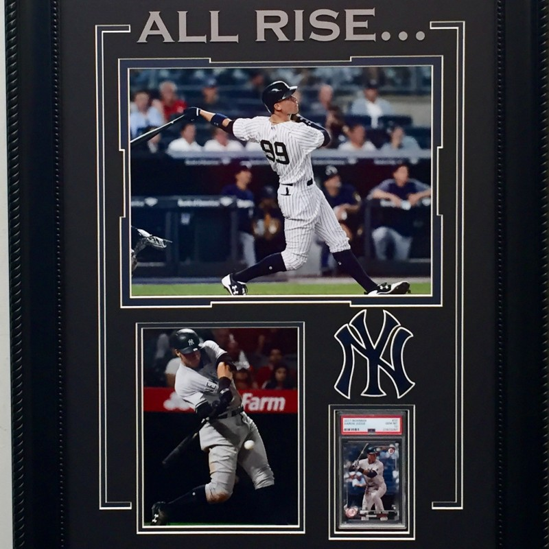 Aaron Judge PSA Graded Rookie Card Collage