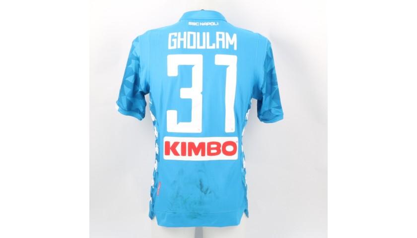 Ghoulam's Napoli Worn Shirt, 2018/19