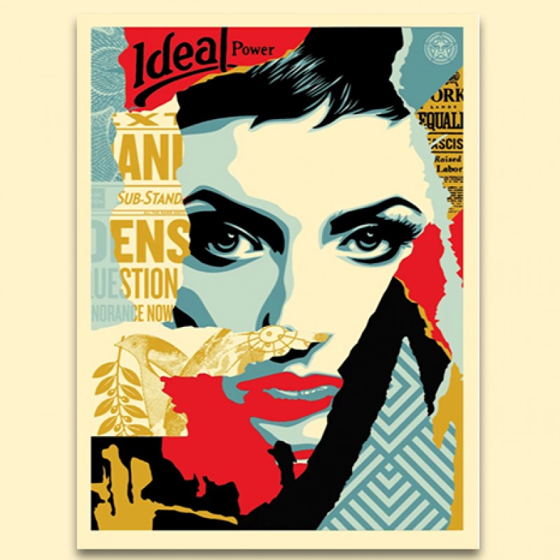 """Ideal Power"" by Shepard Fairey"
