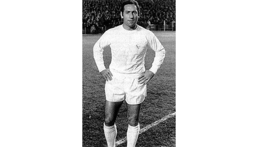 Gento's Real Madrid Worn Shirt, 1964