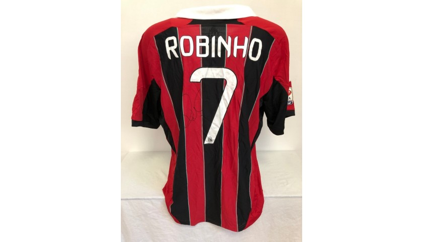 Maglia Ufficiale Robinho Milan, 2012/13 - Autografata