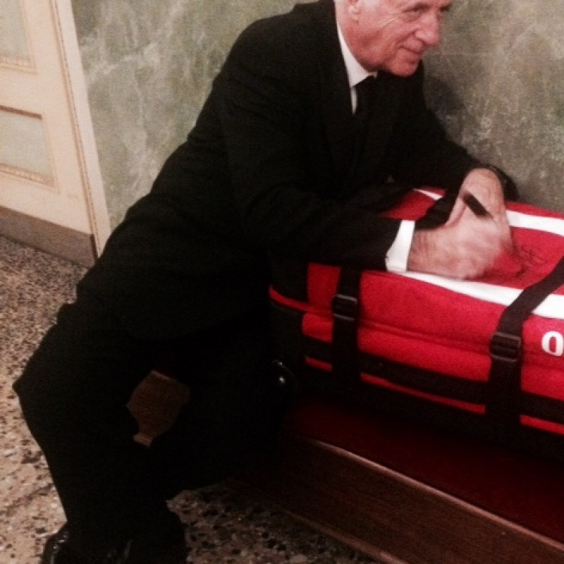 Set Ferrari Suitcases signed by Piero Ferrari