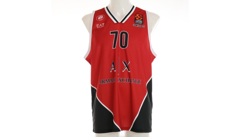 Datome's Official Olimpia Milano Signed Jersey