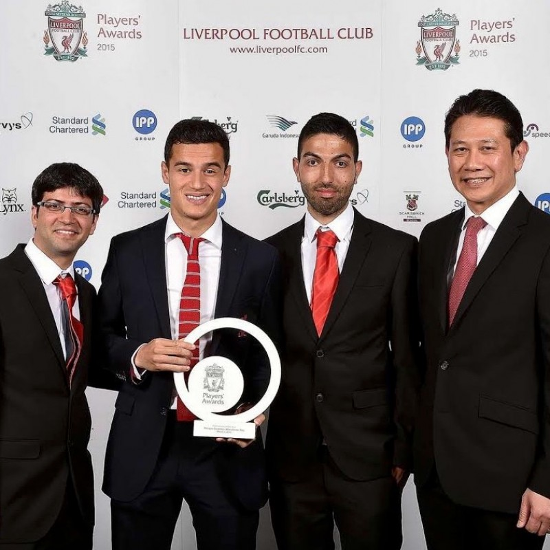 A VIP Evening at the Performance of the Year Awards with Liverpool FC