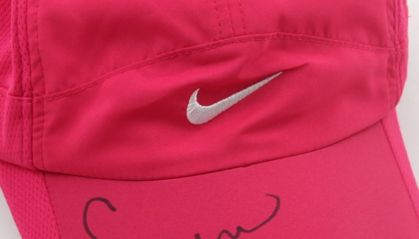 Original Nike hat, signed by Serena Williams