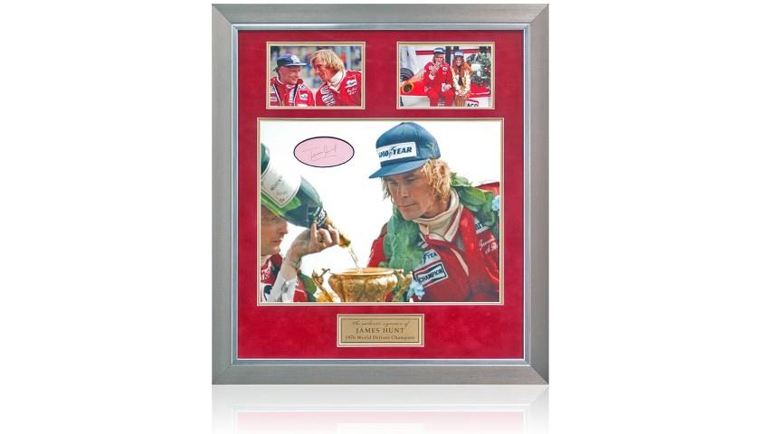 James Hunt hand signed Formula 1 Photo