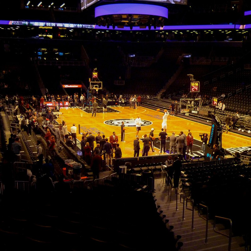 2 Lower Bowl Tickets to the Brooklyn Nets