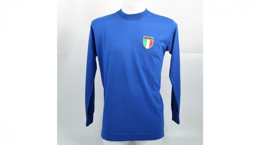 Burgnich's Match-Issued/Worn Italia Shirt, 1970