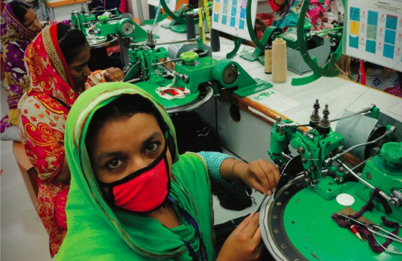 Provide a Garment Worker and her Family with Emergency Relief for one month