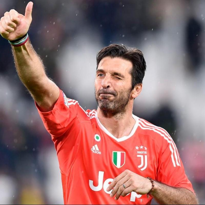 Buffon's Match-Issued/Signed Juventus Shirt – 2018 TIM Cup Final