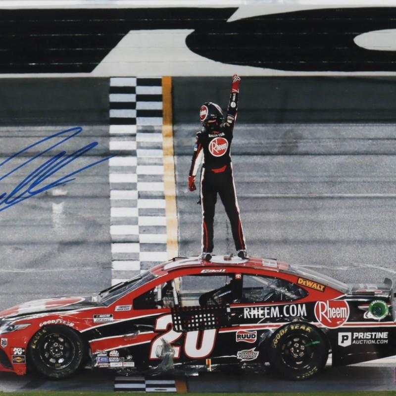 Christopher Bell Signed NASCAR Photo
