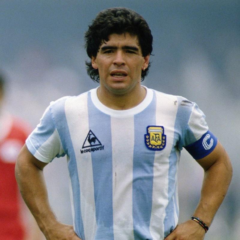 Maradona's Official Argentina Signed Shirt, 1986
