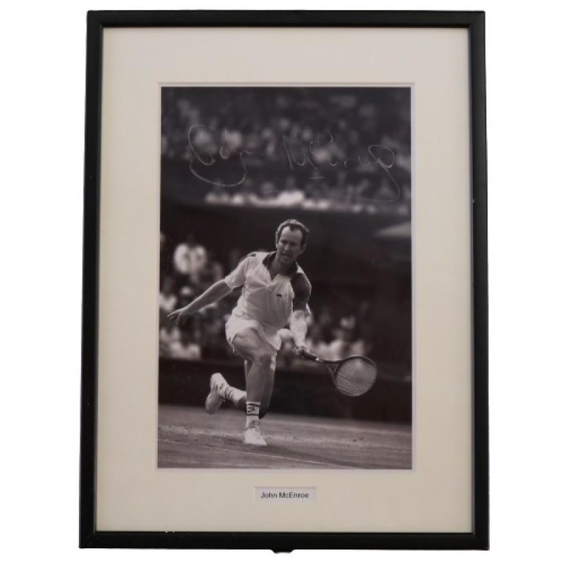 John McEnroe Signed Photograph