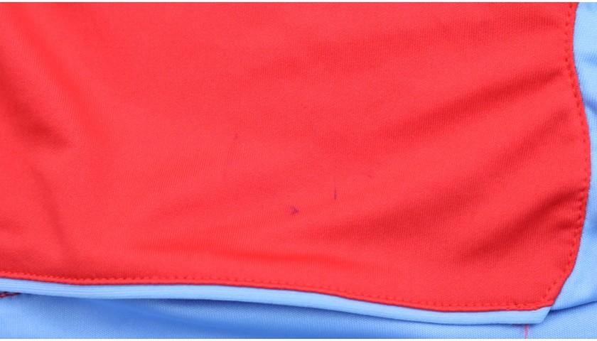 Lavezzi's Napoli Worn and Signed Shirt, 2008/09