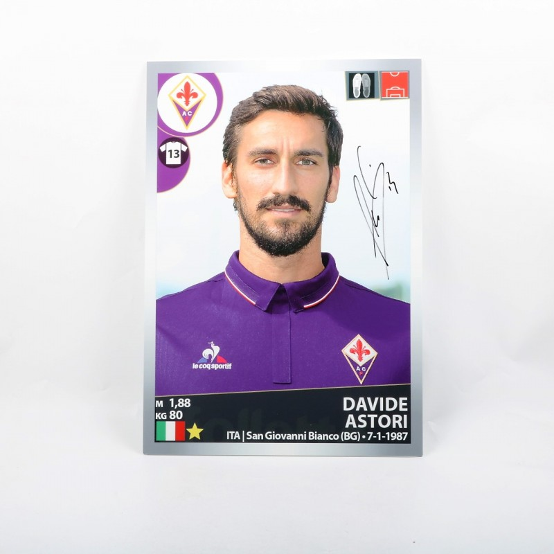 Astori, Limited Edition Box and Panini Maxi Sticker