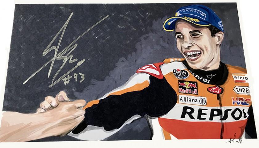 """""""Marc Marquez: Race 9, Brno"""" by Tammy Gorali"""