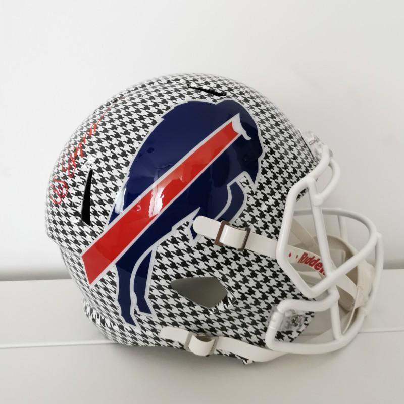 NFL Hydro Buffalo Bills Helmet Signed by OJ Simpson