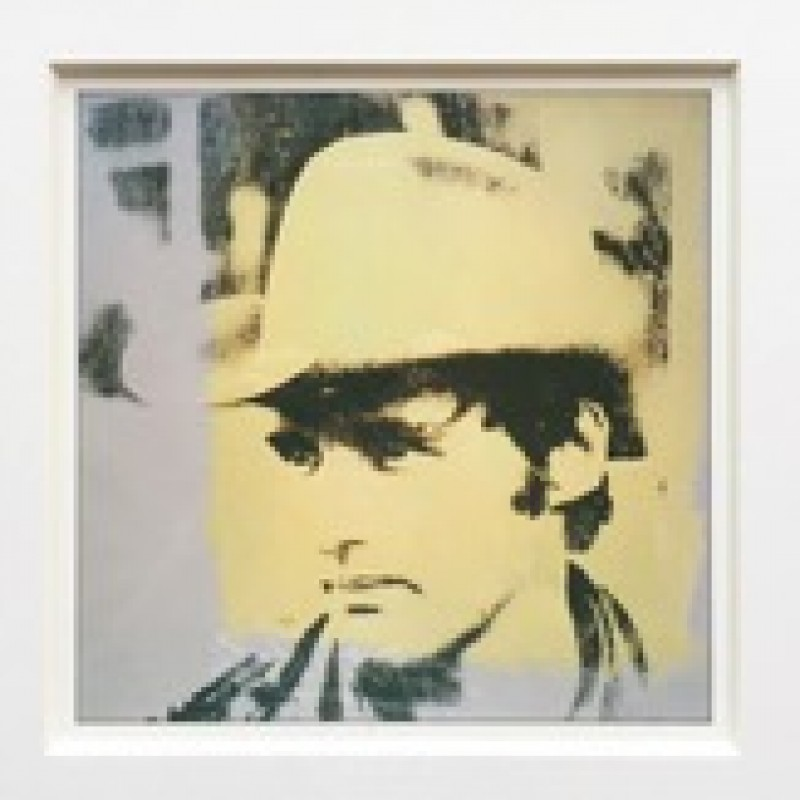 """Dennis Hopper"" by Andy Warhol"