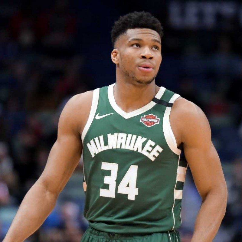 Antetokounmpo's Official Milwaukee Bucks Signed Jersey