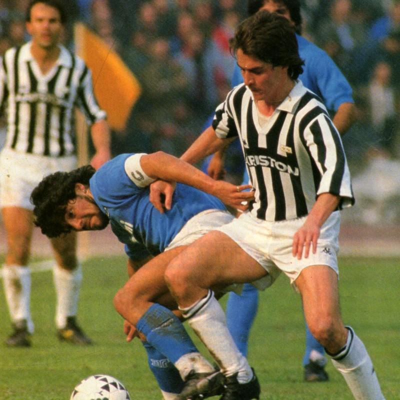 Juventus Shirt Season 1986/87 - Worn by Manfredonia